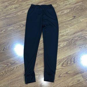 EUC LL Bean Unisex Thermal Underwear 14/16 Black